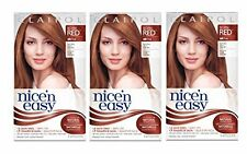 Clairol Nice 'n Easy Hair Color 110 Natural Light Auburn 1 Kit (Pack of 3)
