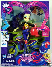 2015 My Little Pony Equestria Girls INDIGO ZAP Friendship Games Motocross Doll