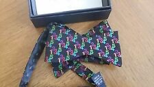 Pure Silk Bow Tie in Box with Instructions