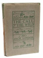 The Call of the Wild First Edition Jack London Rare Book in Dust Jacket 1903
