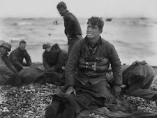 WW2 Photo, D-Day Invasion, American Dead Omaha, WWII
