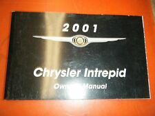 2001 CHRYSLER INTREPID  FACTORY OPERATORS OWNERS MANUAL GLOVE BOX