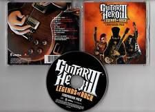 """GUITAR HERO III """"Legends Of Rock"""" (CD) 2007"""
