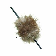 Beaver fur bow string silencers for traditional/recurve longbow/compoundbow