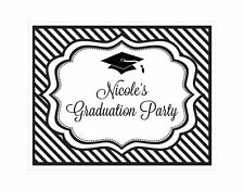 Personalized Graduation Party Theme Sign Graduation Party Decoration