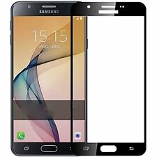3D Full screen Curved Temper Titanium alloy Glass for Samsung J7 Prime Black