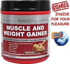 Myology™ MUSCLE & WEIGHT GAINER CHOCOLATE POWDER - 1.5 lbs + Bonus Inside
