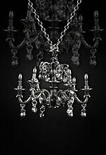 Restyle Halskette Wunderland Alice Chandelier Gothic Lolita Victorian Necklace