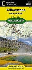 National Geographic Trails Illustrated Map: Yellowstone National Park 201 by...