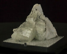 "2.1"" Silver Gray Hairy MILLERITE Needle Crystals on Calcite Ollie Iowa for sale"