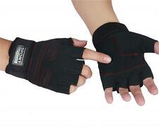 Anti-Rutsch Sport Handschuhe Trainingshandschuhe Handgelenkbandage Krafttraining