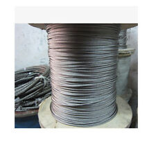 "5Meters 1/16"" 1.5mm 7x7 Stainless Steel Cable Wire Rope T316"