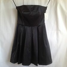 ***12***nwt RACHEL ROY Strapless Baby Doll Draped Pleated Dress Cotton Gown Top