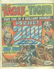 EAGLE & TIGER #200 British comic book January 18, 1986 Dan Dare VG+