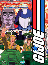 G.I. Joe - A Real American Hero/The Revenge of the Cobra (DVD, 2003, 2-Disc Set)