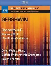 Gershwin: Concerto in F, Rhapsody No. 2, I Got Rhythm (Audio Only) [Blu-ray], Ne