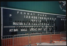 Bruce Springsteen Boston Fenway Park Green Monster Scoreboard Pictures 2003 2012