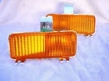 1981 1982 Chevrolet GMC Pick Up In Bumper Amber Turn Signals