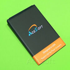 AceSoft 3000mAh Extended Slim Battery for Straight Talk LG Optimus Showtime L86C