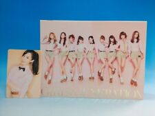 CD+DVD Girls Generation Gee JAPAN Limited Photocard YURI SNSD
