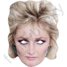 Bonnie Tyler Celebrity Retro 1980's Card Face Mask. All Our Masks Are Pre-Cut!
