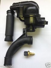 MG ROVER 75 KV6 V6 THERMOSTAT & PIPE KIT MG ZS ZT WITH NEW COOLANT SENSOR