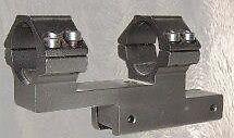 (507025) ATTACCO SLITTA WEAVER 20 MM PER OTTICA DIAM. 25mm LUNG. 60mm ALT 50mm