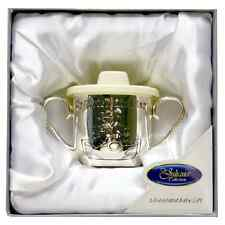 SILVER PLATED MY CHRISTENING CUP/MUG BOYS & GIRLS CHRISTENING GIFT JULIANA