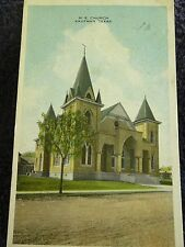 1920 The Methodist Church in Kaufman, Tx Texas PC