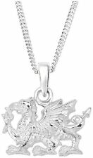 Welsh Dragon Sterling Silver Pendant