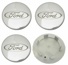 GENUINE FORD Fiesta, Puma, Mondeo, Focus, KA, Transit ALLOY WHEEL CENTER CAPS x4
