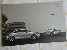 Audi TT range brochure Mar 2009 Chinese text