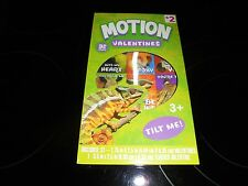 MOTION VALENTINE'S DAY CARDS 32 COUNT 6 UNIQUE DESIGNS! FREE AND FAST SHIPPING!!