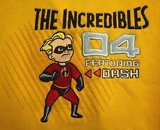 INCREDIBLES youth med hoodie Disney Pixar Animation 2004 hooded sweatshirt Dash