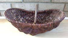 Vintage Style Country Trug Wicker Basket