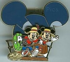 Disney Pin: Disney Cruise Line DCL Artist Choice April Mickey & Minnie Mouse