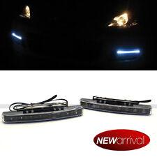 """For Cougar 6"""" Clear Lens White LED Daytime Running Fog Parking Signal light"""
