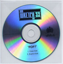 WRETCH 32 Pop? 2013 UK 2-trk promo test CD clean / explicit edits
