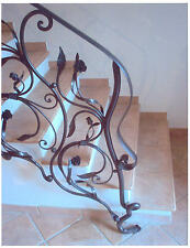 WROUGHT IRON RAILING, custom creations . Italian Style and Design . 004