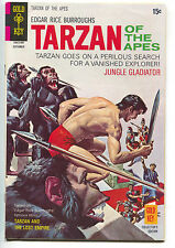 Tarzan Of The Apes 195 Gold Key 1970 VF Daisy Buffalo Bill Scout BB Gun Ad