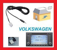 Cable auxiliaire jack adaptateur mp3 pour autoradio RNS2 VW TOUAREG T5 multivan
