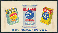 1944 Ogilvie Flour Multi-Colour Advertising Cover, Neepawa MB
