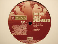 "BOOM BAP PROJECT - GET UP / ODDS ON FAVORITE / NET WORTH (12"") 2002  L'RONEOUS ♫"