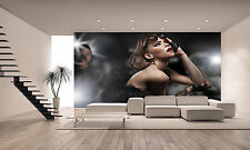 Woman and Paparazzi Wall Mural Photo Wallpaper GIANT DECOR Paper Poster