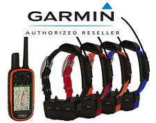 Garmin Alpha 100 + TT15 GPS Premier Collar Bundle - 4 DOG Track & Train System