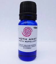 MOTH REPELLENT OIL 10ml, 100% natural; safer than moth balls, *BARGAIN Moth Away
