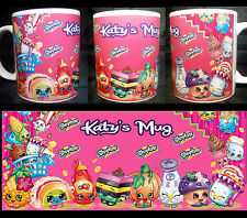 SHOPKINS MUG  NAME Personalised  Birthday Gift