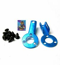 HY00171B 1/10 Scale Car Alloy Fixed Body Shell Cover Accessories Light Blue