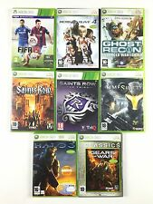 Lot 8 Jeu Fifa 15, Saints Row, Halo 3, Gears Of War, Dead or Alive 4... Xbox 360
