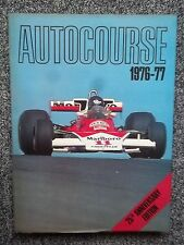 Autocourse 1976-77 1976 1977 F1 Wolf Lotus March Ferrari Ligier Brabham GP Prix